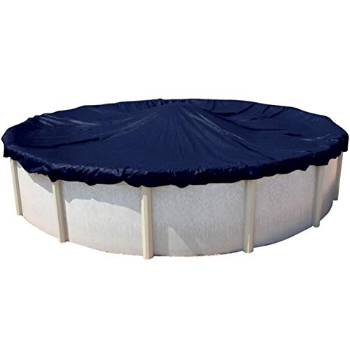 Doheny's Commercial-Grade Winter Pool Covers for Above Ground Pools | Featuring Exclusive Tear Resistant Weave | The Best Winter Covers for Le$$ Money! (24' Round, Solid - 10 Yr.)