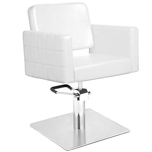 GABBIANO silla de peluquería Hydraulic barber ANKARA Blanco