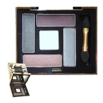 Avon LUXE Lidschatten-Palette edle goldfarbene Spiegelkassette mit Applikator