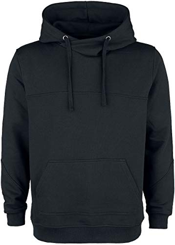 Black Premium by EMP Bodies Homme Sweat-Shirt à Capuche Noir M