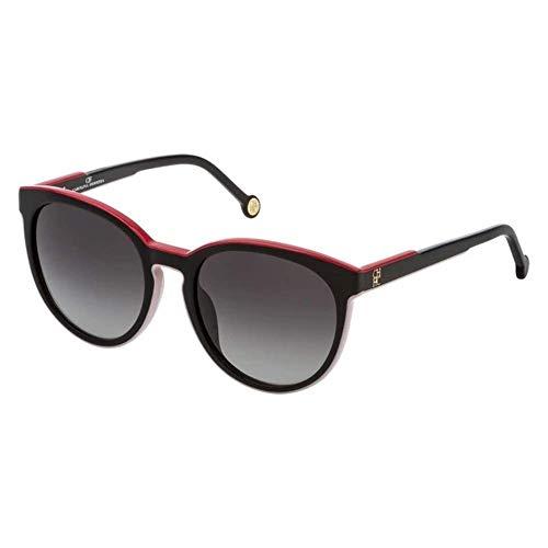 Carolina Herrera SHE7935309P2 Gafas, Black+Pink, 53/20/135 para Mujer