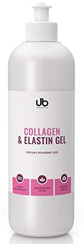 UB Gel mit Kollagen & Elastin – Konzentriertes Serum | Spendet Feuchtigkeit und Polstert Auf | Zur Verbesserung der Effektivität von Schönheitsbehandlungen 500 mL