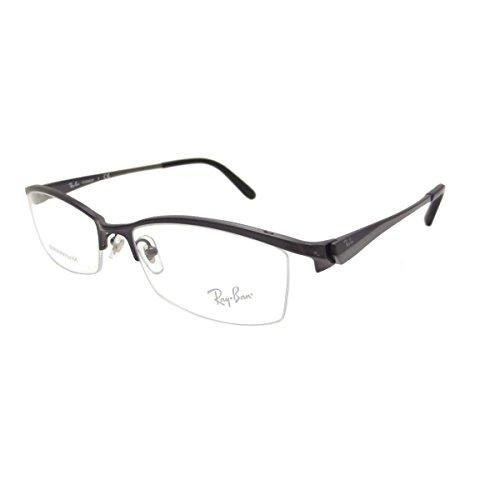 【レイバン国内正規品販売認定店】RX8723D 1026 55サイズ Ray-Ban (レイバン) メガネフレーム と ダテメガネ用レンズ(度なし) のセット