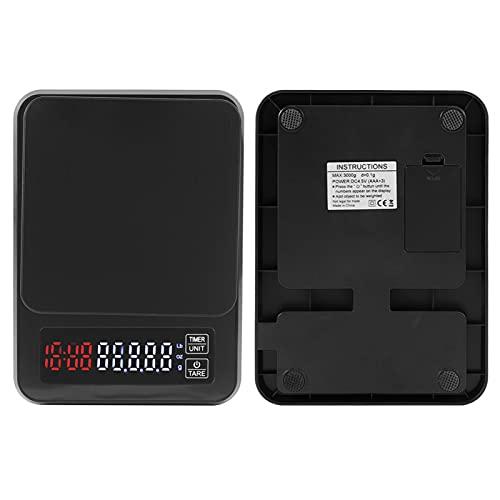 Báscula Digital, básculas de Cocina multifunción con Carga USB y batería, Funciones de Doble Uso y Alta precisión para medir el Peso de los artículos
