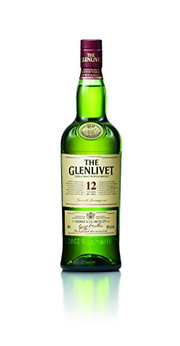 The Glenlivet 12 Jahre Single Malt Scotch Whisky – Scotch Single Malt Whisky aus der Speyside Region – 1 x 0,7 L