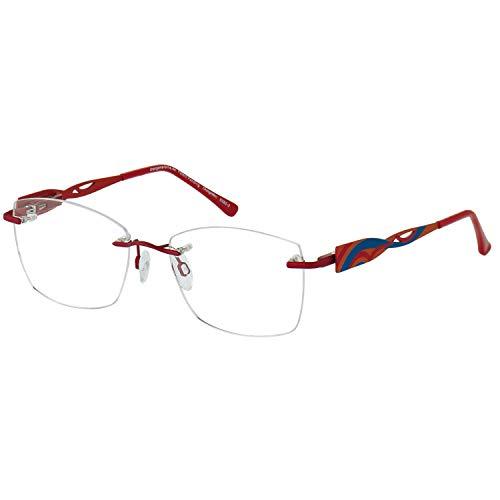 Change Me randlose Brille 2140-2 mit Wechselbügel 8382-2