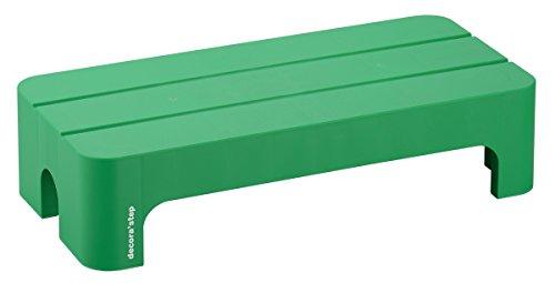 サンカ デコラステップショート Lサイズ グリーン 幅590×奥行280×高さ140mm DS-SLG