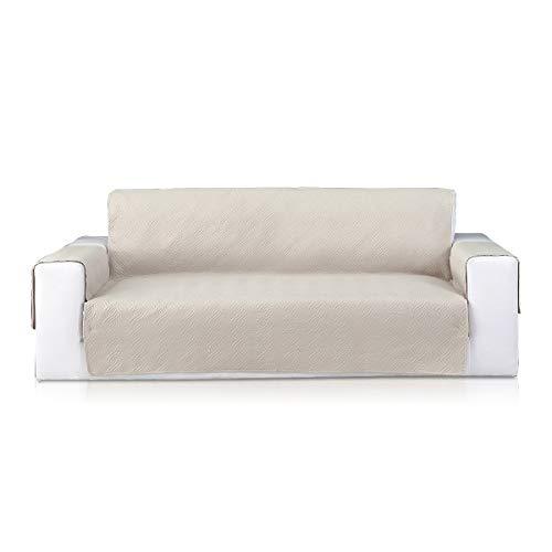 PETCUTE Sesselschoner sofaläufer Sofabezüge stuhlhussen sesselschoner für fernsehsessel couchbezug sofaschoner sofaüberwürfe Sofabezüge Beige
