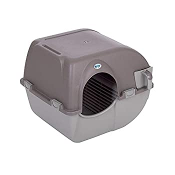 Omega Paw Products RA20 Self Cleaning Litter Box  Small 17 Inch W x 20 Inch D x 16 Inch H