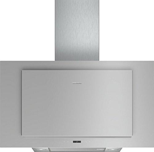 Siemens LC97FLP10 Dunstabzugshaube/Flachschirmhaube / 89 cm/Metall-Fettfilter/Boost-Funktion/Silber