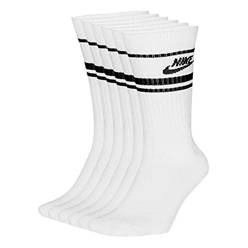 Nike Sportswear Essential Calzettoni Adulto Unisex,White,M