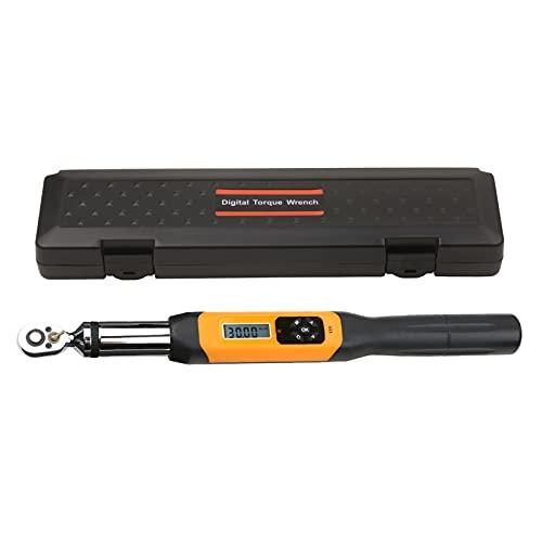 KKmoon - Llave dinamométrica digital electrónica de 1/4 pulgadas con alarma LCD (0,1-10 Nm)