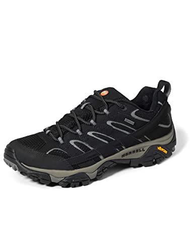 Merrell MOAB 2 GTX, Zapatillas de Senderismo Hombre, Negro, 43.5 EU