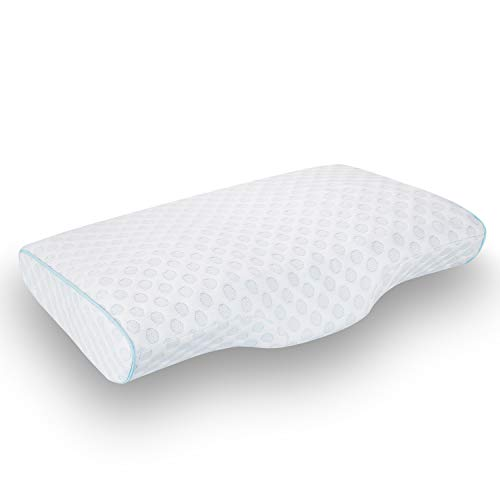 Our #4 Pick is the LEREKAM Cervical Memory Foam Pillow for Neck Pain
