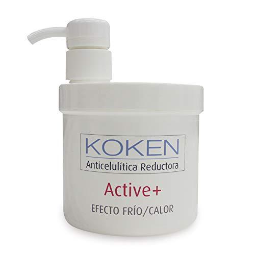 KOKEN COSMETICS Active+ Crema Anticelulítica Reductora Efecto Frío/Calor - 500ml