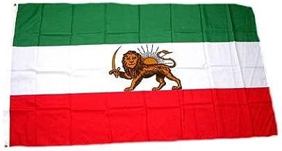 IRANISCHE TISCHFAHNE 10 x 15 cm AZ FLAG TISCHFLAGGE Iran ALT EHEMALIGE PERSIEN 15x10cm flaggen