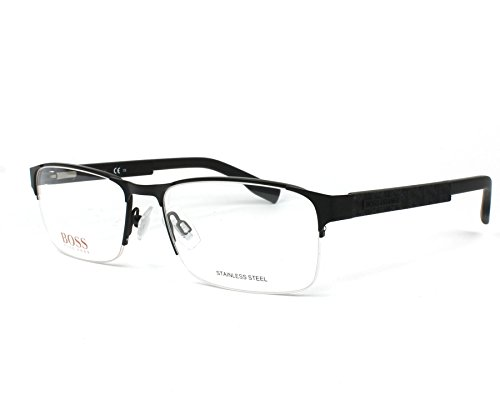 BOSS Orange Brillengestelle BO 0296/F 003 Monturas de gafas, Negro (Schwarz), 56.0 para Hombre