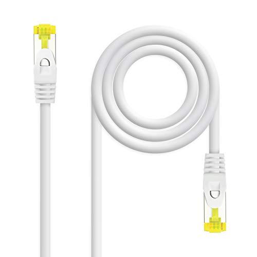 NANOCABLE 10.20.1902-W - Cable de Red Ethernet RJ45 LSZH Cat.6A SFTP, AWG26,...
