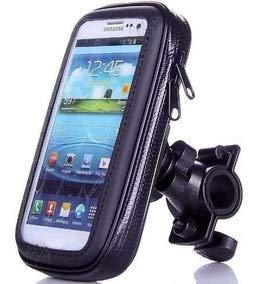 Funda Impermeable de Soporte para Bicicleta y Motocicleta 360° Rotación Soporte Universal con Sensible Pantalla táctil para iPhone X iPhone 8/7/SE/6S/6 SAMSUM teléfono Huawei 3 C hasta 5.2 Pulgadas