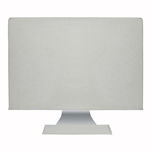 Hermitshell El polvo y la cubierta resistente al agua como la seda antiestático con forro de terciopelo suave caja cubrir Apple iMac monitor y teclado para iMac 21.5' Color: color Gris