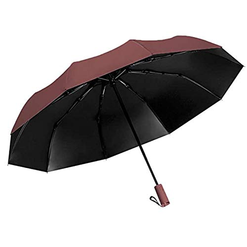 ZYZS Umbrella pocket umbrella compact folding umbrella, windproof, umbrella bag. - Multicolour - Medium