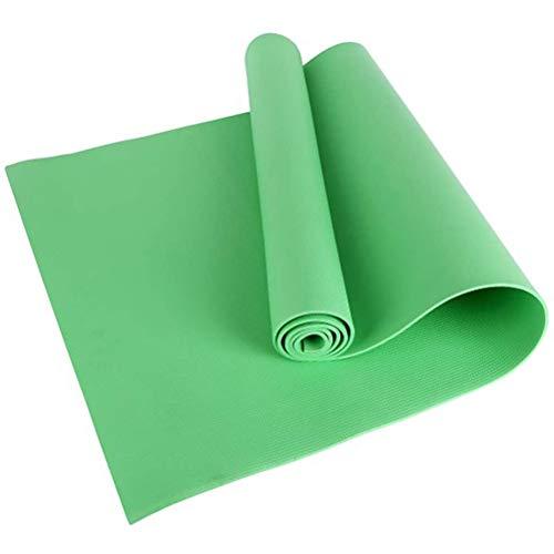 SFNTION Esterilla de yoga de EVA antideslizante para fitness de 4 mm, para yoga, en casa, gimnasio, gimnasia, pilates, gimnasia, etc.