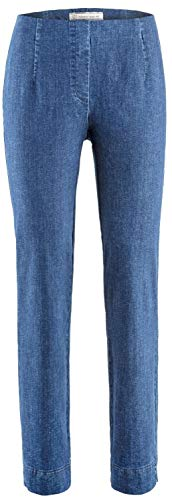 Stehmann INA-760W, Indigo, Bequeme Jeans in Superstretchmaterial 38