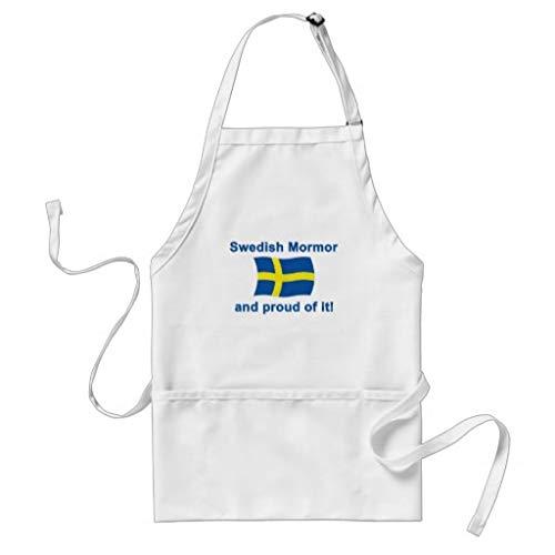 Tr73ans Trots Zweeds Mormor Grootmoeder Volwassen Schort