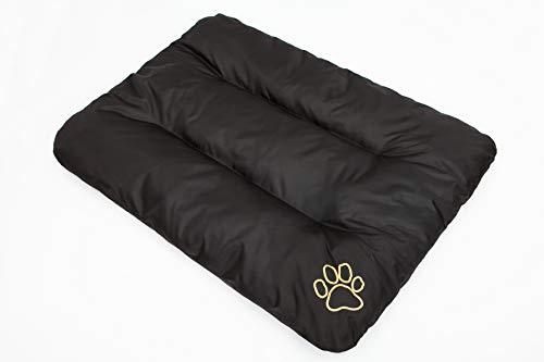 Hobbydog R3 ECOCZA4 Hundebett ECO Schlafplatz Ruheplatz Hundematratze Hundekissen, 115 x 80 cm, XXL, schwarz