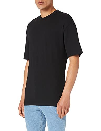 JACK & JONES Herren JORBRINK Tee SS Crew Neck NOOS T-Shirt, Black/Fit:Box, M