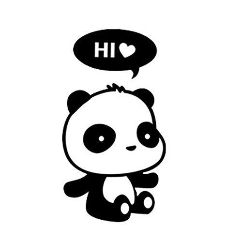 14Cm * 9Cm Pegatinas De Interruptor De Panda Lindo Para Habitación De Niños En La Pared De Vinilo Para Decoración Del Hogar Calcomanías De Arte Extraíbles Pegatinas De Pared Bonitas