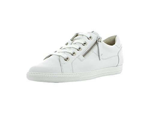 Paul Green Damen Sneaker 4940, Frauen Low-Top Sneaker, schnürer schnürschuh sportschuh weibliche Ladies feminin elegant Women,White,39 EU / 6 UK