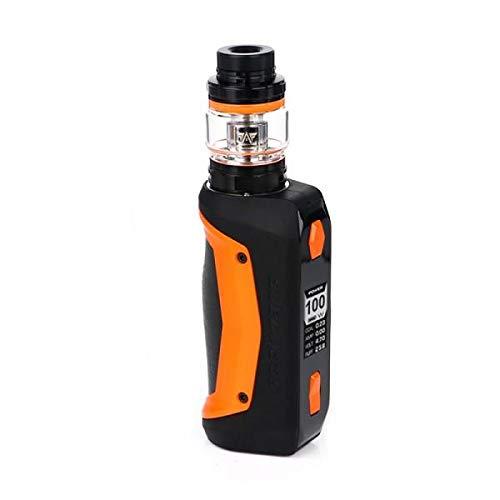 Geekvape Aegis SOLO Kit 100W Cerberus Tank 5.5ml Malla X2 Bobina 0.3ohm 100% Original Sin nicotina E-Cigarette Kit (Orange)