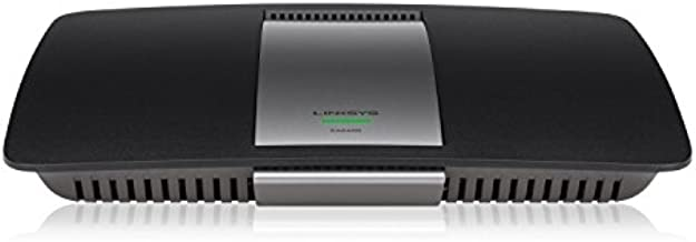 Linksys AC1600 Wi-Fi Wireless Dual-Band+ Router with Gigabit & USB Ports, Smart Wi-Fi App Enabled to Control Your Network from Anywhere, (Renewed), EA6400-RM2