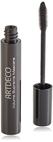 ARTDECO Volume Supreme Mascara, Volumen-Wimperntusche mit Gummibürste, Nr. 1, schwarz
