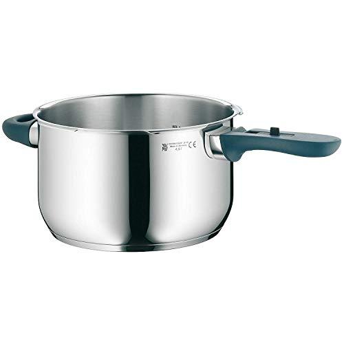WMF Perfect Plus Schnellkochtopf-Unterteil Induktion 4,5l, Dampfkochtopf ohne Deckel, Cromargan Edelstahl poliert, 2 Kochstufen