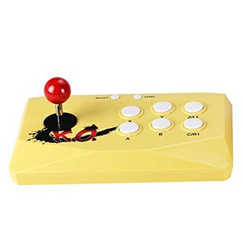 BBDA Consola de Videojuegos Arcade de 16 bits Plug & Play 2.4G Reproductor de Juegos de Controlador Doble inalámbrico con más de 2000 Juegos
