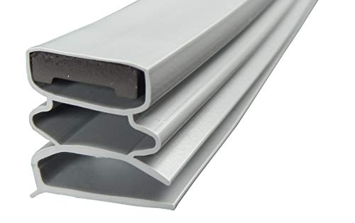 Magnetdichtung Profil klein f - 2500mm inkl. Magnetband - Farbe: Grau (Kühlschrankdichtung)