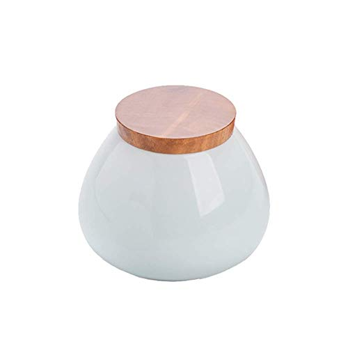 XinXinFeiEr Regalo La cremación urna urnas urnas de cerámica de entierro for una pequeña cantidad Humano o los Animales domésticos en el hogar Cenizas Memorial Buen Sellado (Color: Blanco) Hermoso