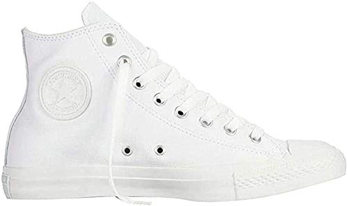 Converse Chuck Taylor All Star Adulte Mono Leather Hi, Unisex-Erwachsene Hohe Sneakers, Weiß (blanc), 38