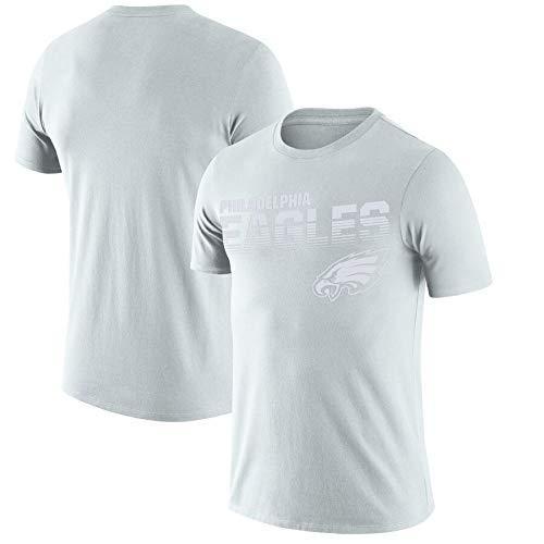 ZEH Camiseta de fútbol NFL100 sideline platino aniversario conmemorativo rendimiento camiseta (color: P, tamaño: XXL) FACAI