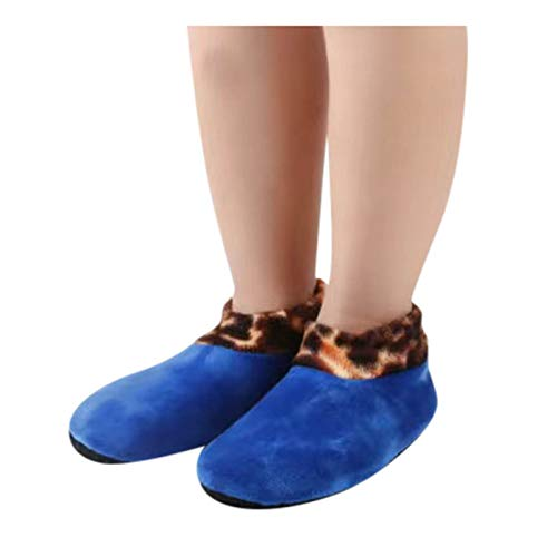 Warm Floor Socks for Kids Winter Elastic Bed Socks Non-Slip Thick Fleece Lined Floor Socks Breathable Wool Socks