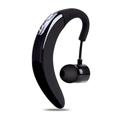 Wireless Earphone Ear-Hook Headphone Handsfree Mic for Galaxy S21, Plus, Ultra - Single Headset Over-Ear Earbud Compatible with Samsung Galaxy S21, Plus, Ultra