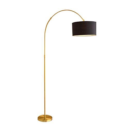 Arc Vloerlamp Verstelbare Zwanenhals Staande Vloerlamp voor Woonkamer Slaapkamer Vissen Oogverzorgende Vloer, 2 Kleuren 01-31