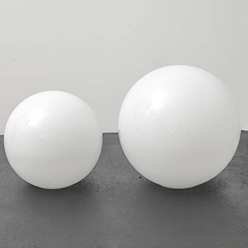 Luz Vintage - globos de cristal para lámparas (25cm)