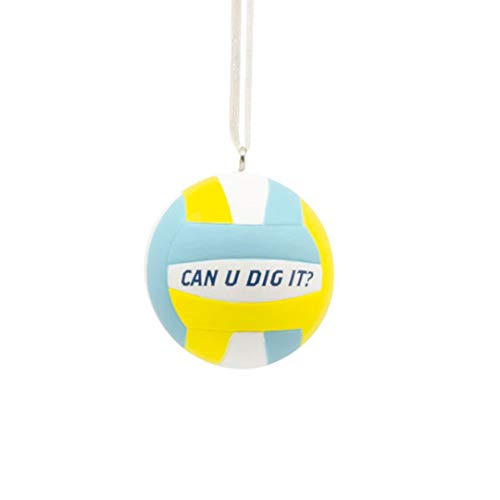 HMK Hallmark Volleyball Tree Trimmer Ornament