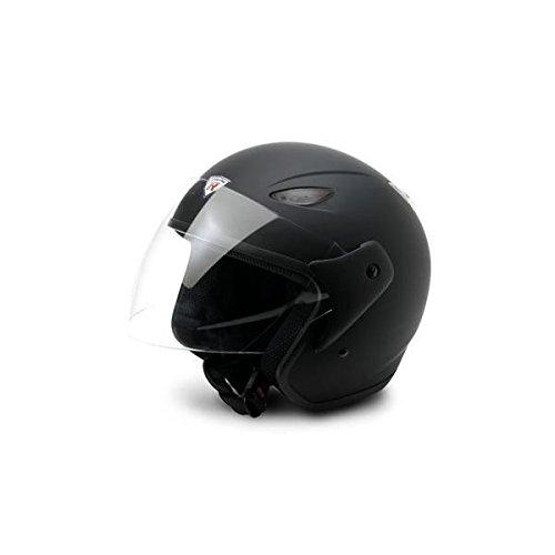 Bottari Motorradhelm Explorer, Rubber Black, Größe M