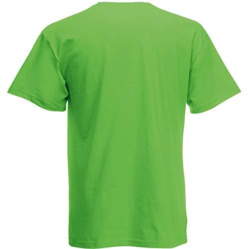 Fruit of the Loom Herren Screen Stars Original T-Shirt (3XL) (Limette)