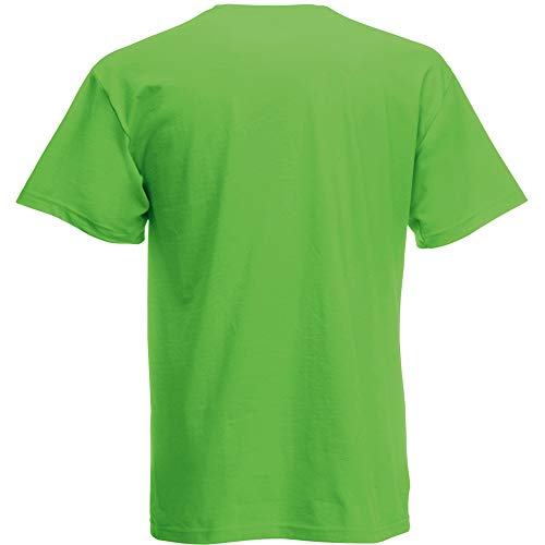 Fruit of the Loom Herren Screen Stars Original T-Shirt (3XL) (Limette)