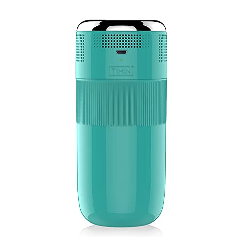 SuDeLLong Beverage Cooler Cup Creative Fast Refrigeration Cup Compact Portable Outdoor Office Refrigeration USB Car Insulation Cup (Color : Light blue, Size : 8x8x18CM)